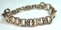 Custom 14KY C H bracelet