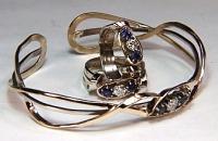 sapphire jewelry, sapphire bracelets