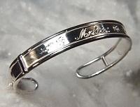 Hand Engraved Cuff Bracelet